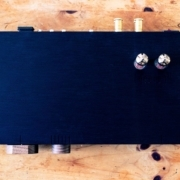 Top view of Billie Stereo Amp