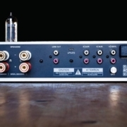Billie Hybrid Tube Stereo amplifier inputs